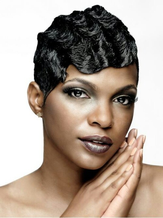 Best ideas about Black Hair Finger Waves Hairstyles . Save or Pin Finger waves Now.