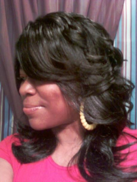Black Layered Hairstyles  Layered haircuts for black hair
