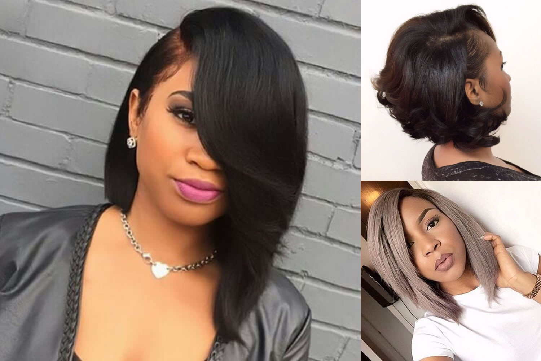 Black Short Bob Hairstyles 2019  Best 45 Short Bob Hairstyle for Black Women & Hair Color Ideas
