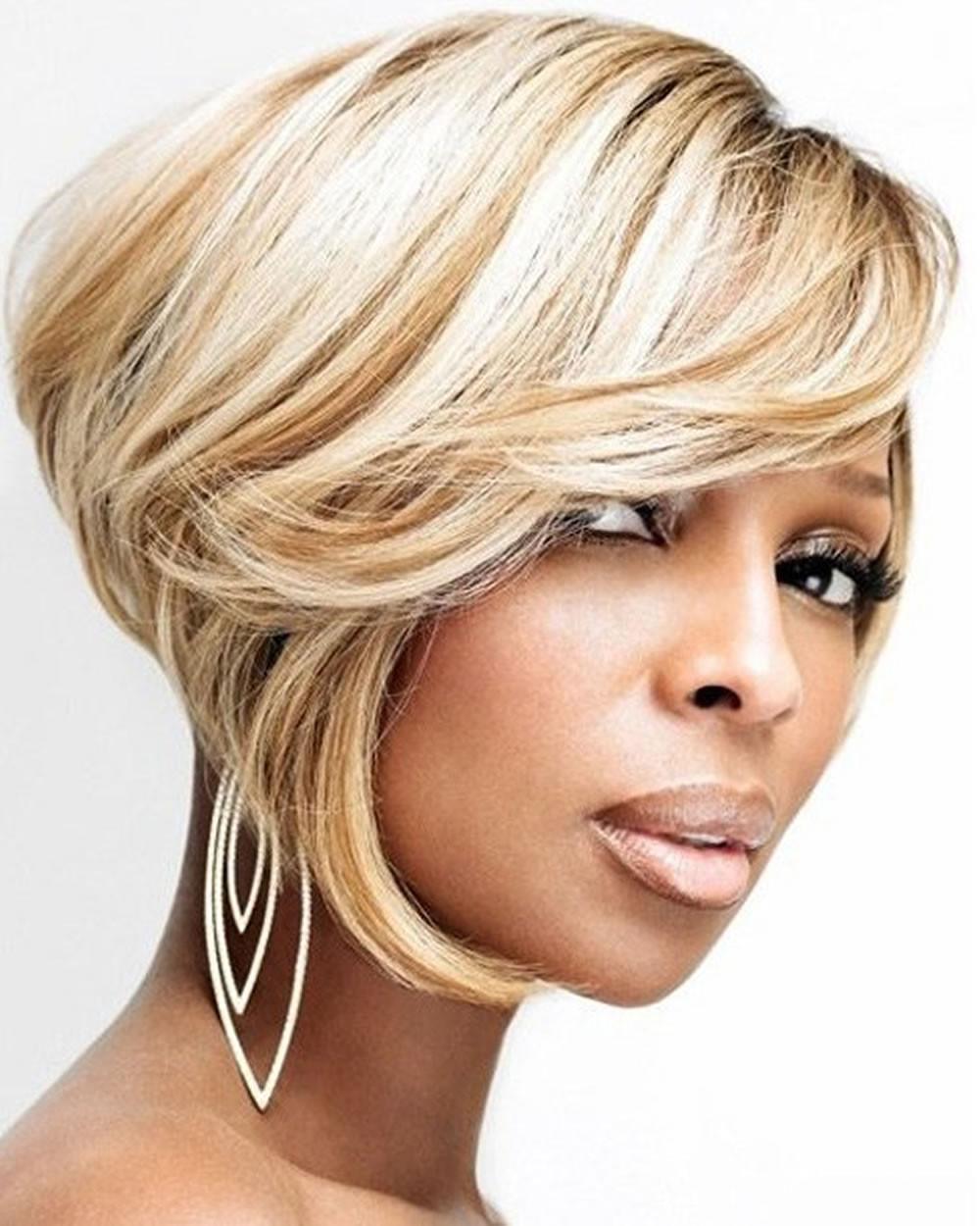 Black Short Bob Hairstyles 2019  Short Bob Hair for African American Women 2018 2019 – Page