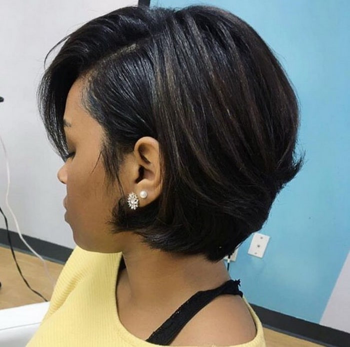 Black Short Bob Hairstyles 2019  40 Best Black Women Hairstyles 2018 Edgy Options