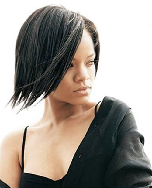Black Straight Hairstyles  Short Straight Haircut for Women