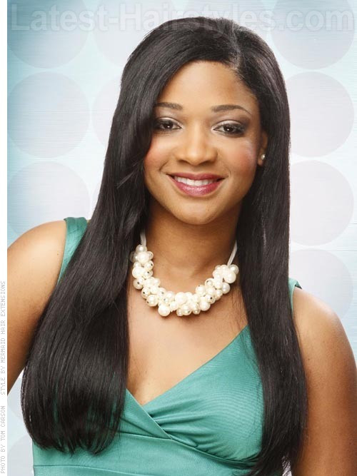 Black Straight Hairstyles  31 Fabulous Hairstyles for Long Straight Hair Trending in