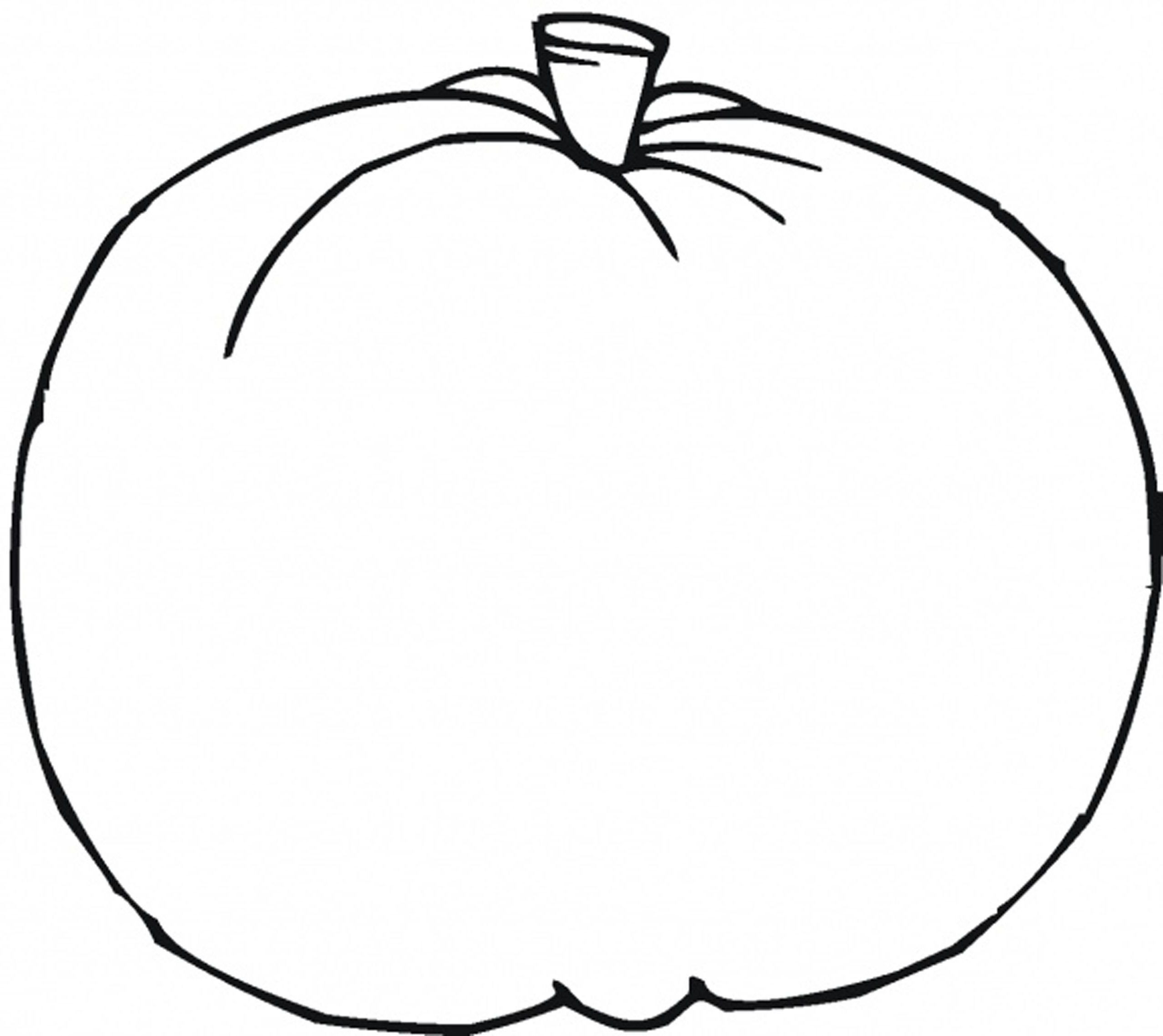 Best ideas about Blank Pumpkin Coloring Sheets For Kids . Save or Pin Blank Pumpkin Template Coloring Home Now.