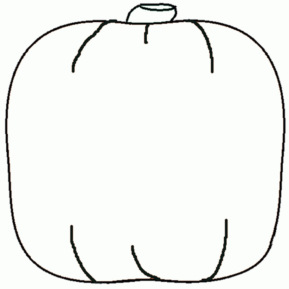Best ideas about Blank Pumpkin Coloring Sheets For Kids . Save or Pin Get This Printable Baby Animal Coloring Pages line Now.