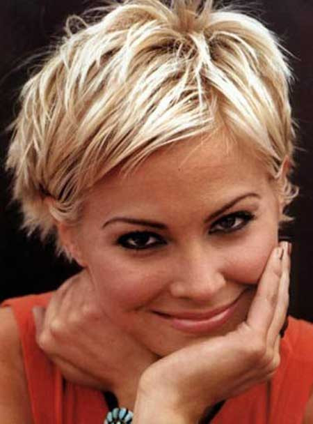 Blonde Short Haircuts  New Short Blonde Hairstyles 2014