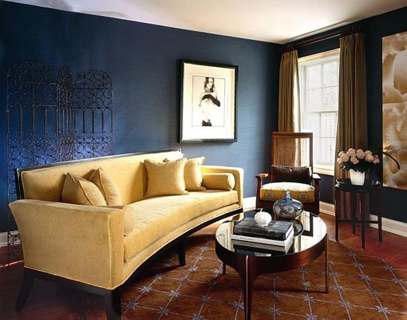 Best ideas about Blue Living Room . Save or Pin 20 Radiant Blue Living Room Design Ideas Rilane Now.