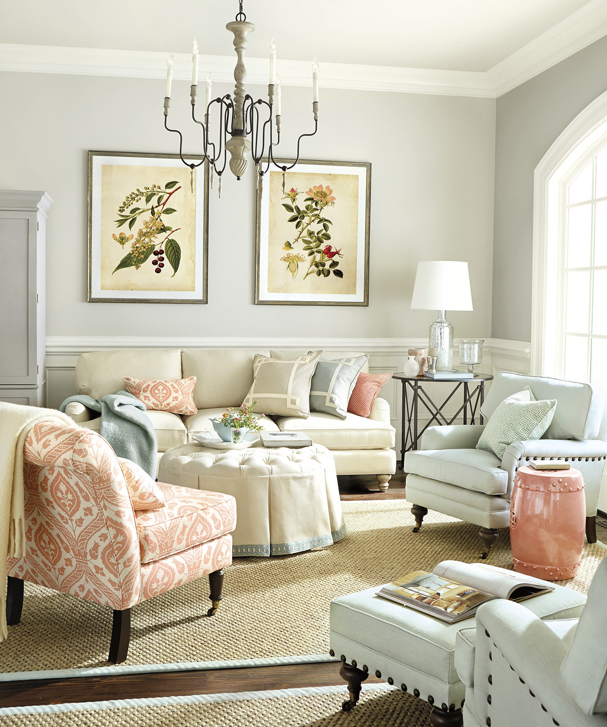 Best ideas about Blue Living Room . Save or Pin Interior Design Basics Color Theory Now.