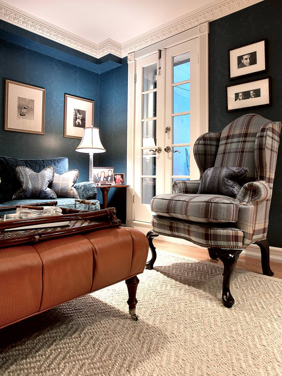 Best ideas about Blue Living Room . Save or Pin 20 Blue and Brown Living Room Designs Decorating Ideas Now.