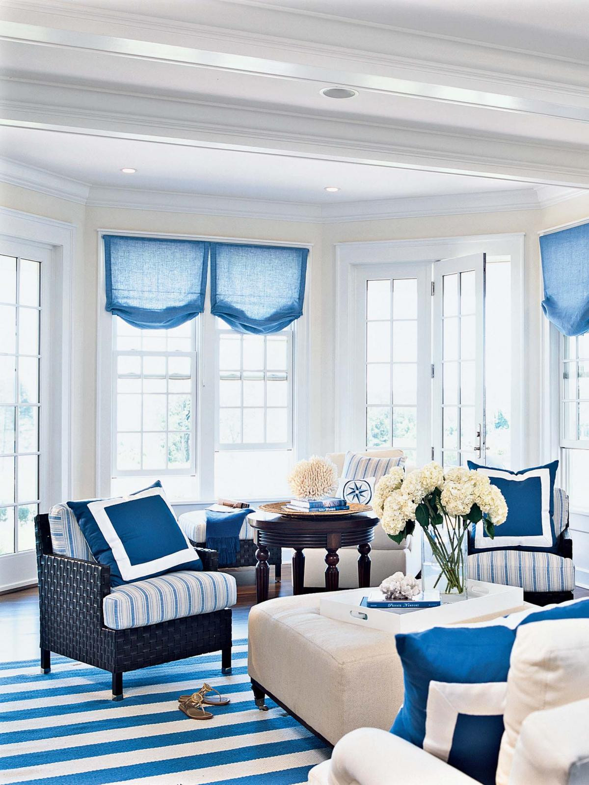 Best ideas about Blue Living Room . Save or Pin Enchanting Blue Living Room Inspirations Now.