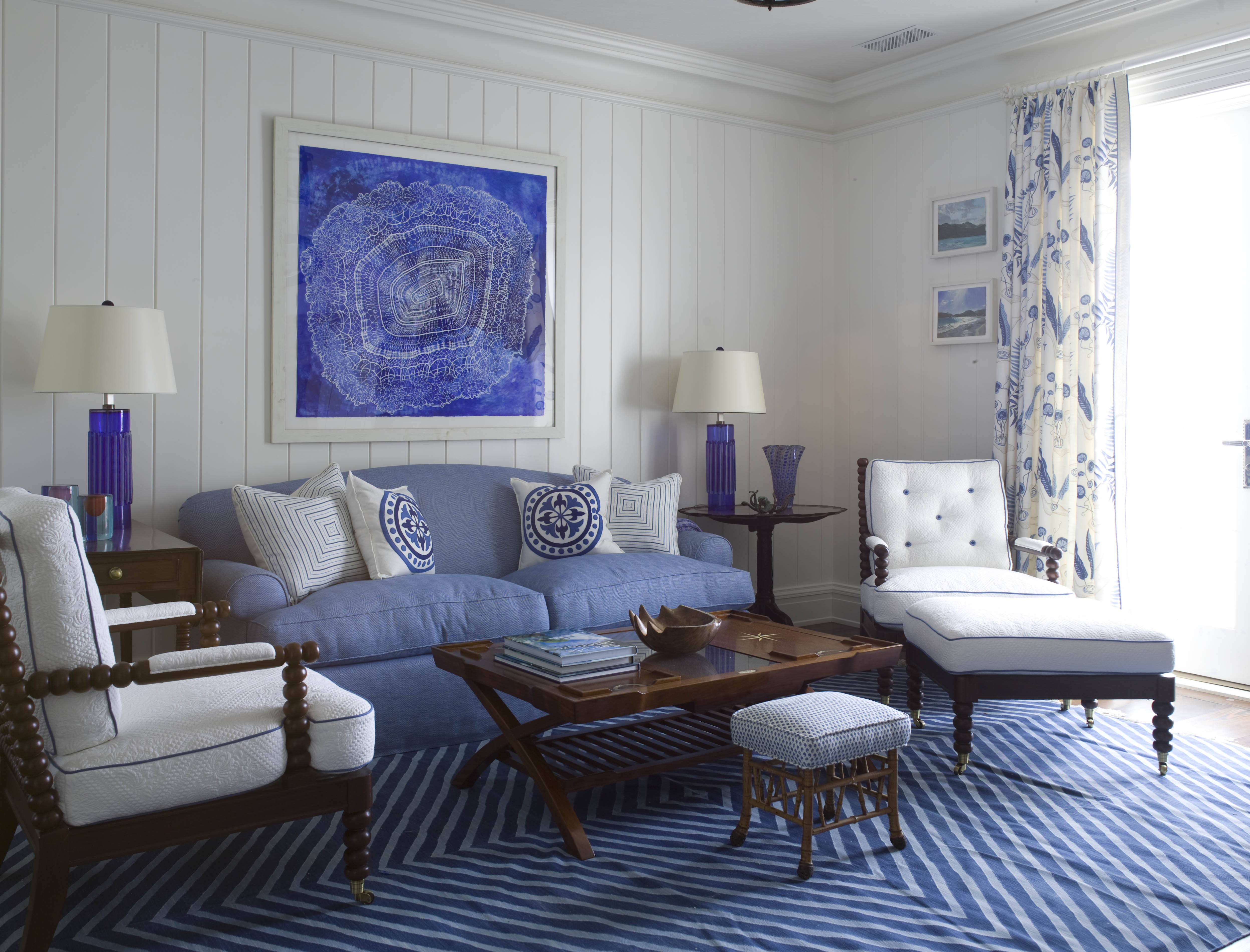 Best ideas about Blue Living Room . Save or Pin Top 4 fortable Chairs for Living Room Now.