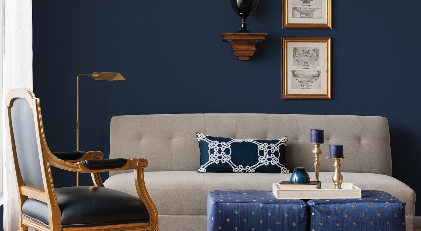 Best ideas about Blue Living Room . Save or Pin 50 Shades of Blue – home decor Now.