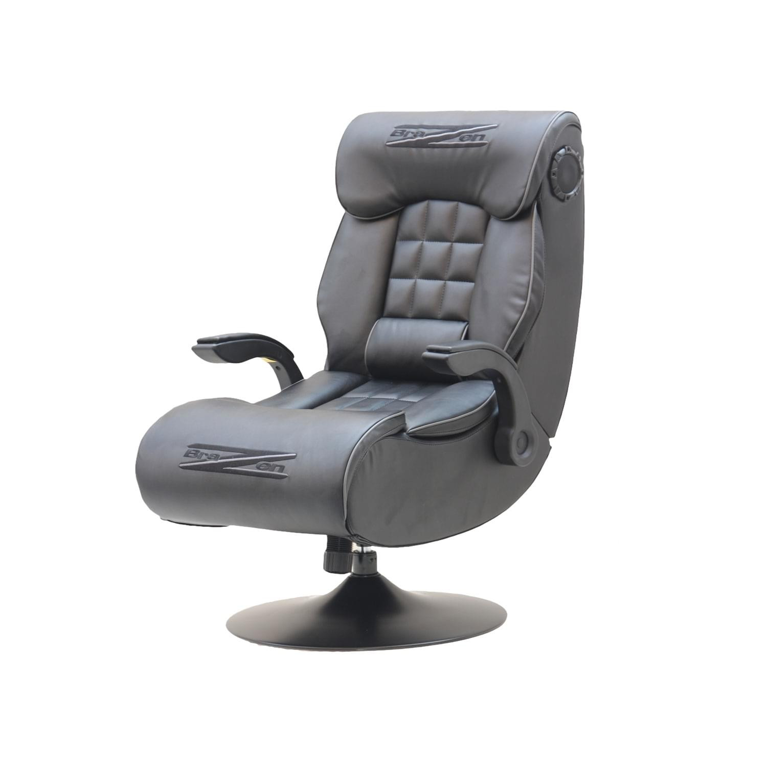 Best ideas about Bluetooth Gaming Chair . Save or Pin BraZen Demon 2 1 Bluetooth and Wireless DAC Gaming Chair Now.
