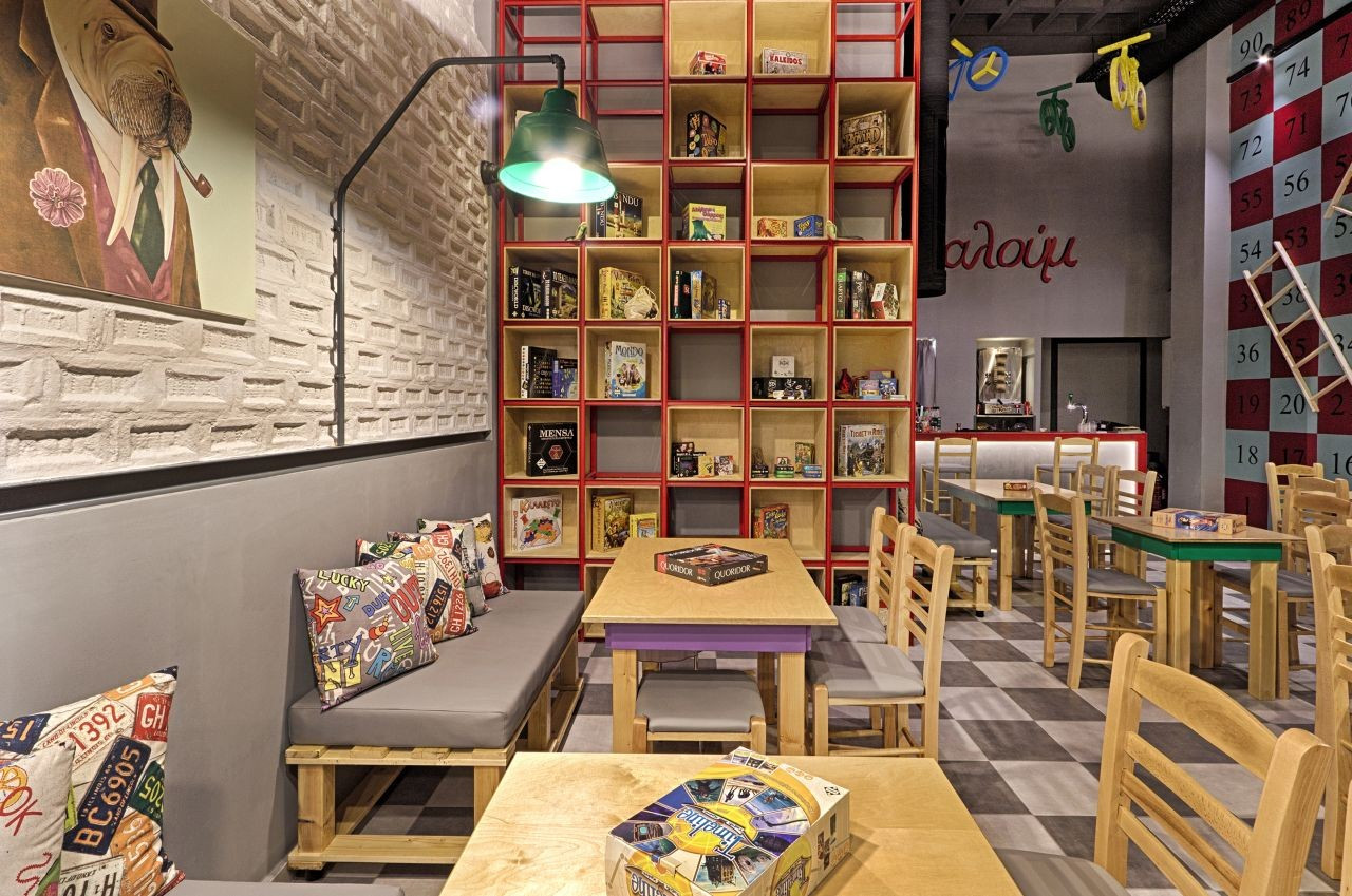 Best ideas about Board Game Room . Save or Pin Gallery of Alaloum Board Game Café Triopton Architects 4 Now.
