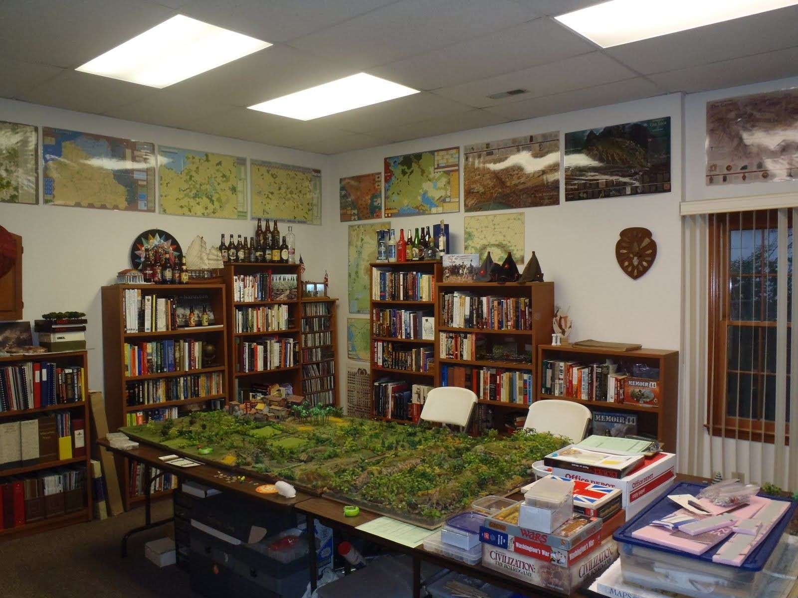 Best ideas about Board Game Room . Save or Pin wargaming room ideas Google Search Game Room Now.