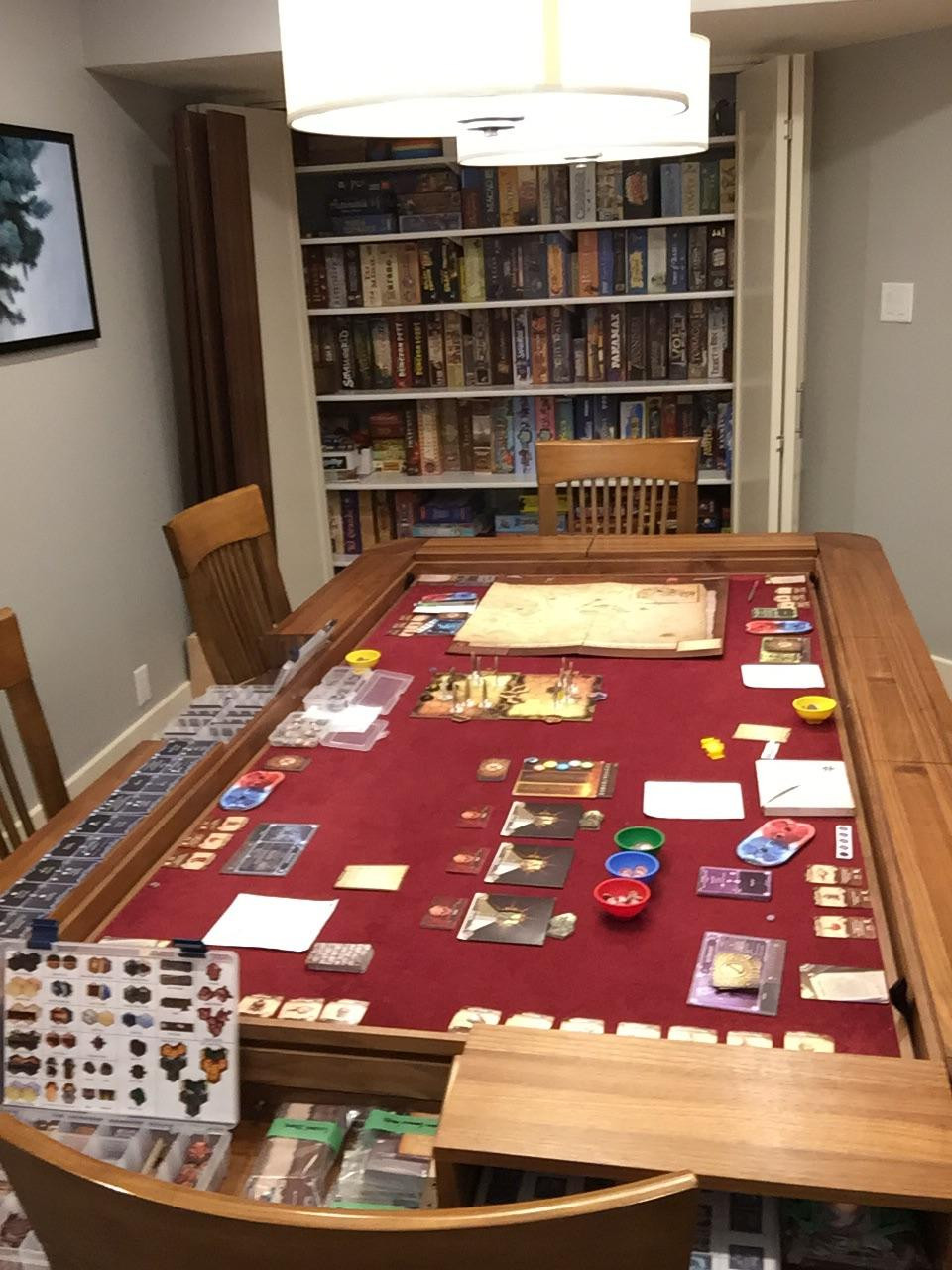 Best ideas about Board Game Room . Save or Pin I didn t realize Reddit was into custom board game rooms Now.