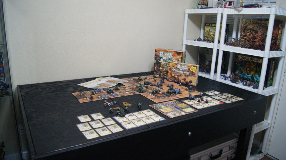 Best ideas about Board Game Room . Save or Pin WIP Mancave Part 2 Game Table and Painting Studio Now.
