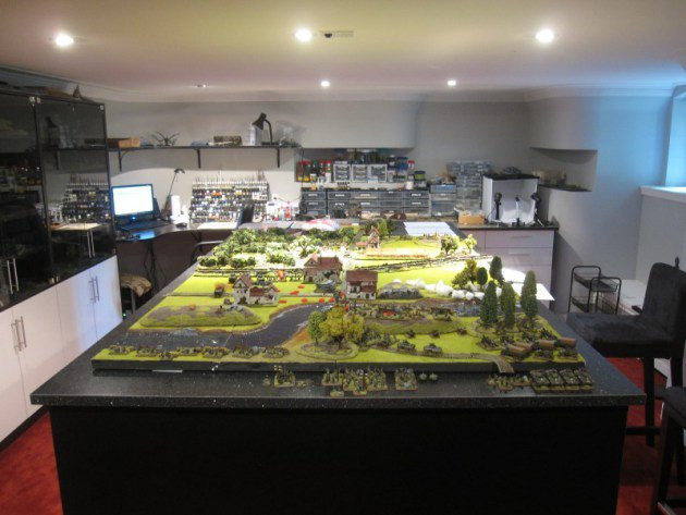 Best ideas about Board Game Room . Save or Pin Dad Builds Ultimate Tabletop Wargaming Room Now.