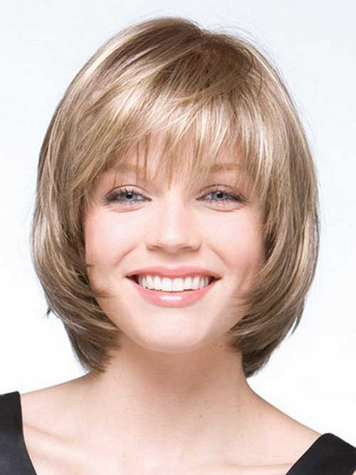 Best ideas about Bob Haircuts For Fine Hair Round Face . Save or Pin 10 Layered Bob Haircuts For Round Faces Now.