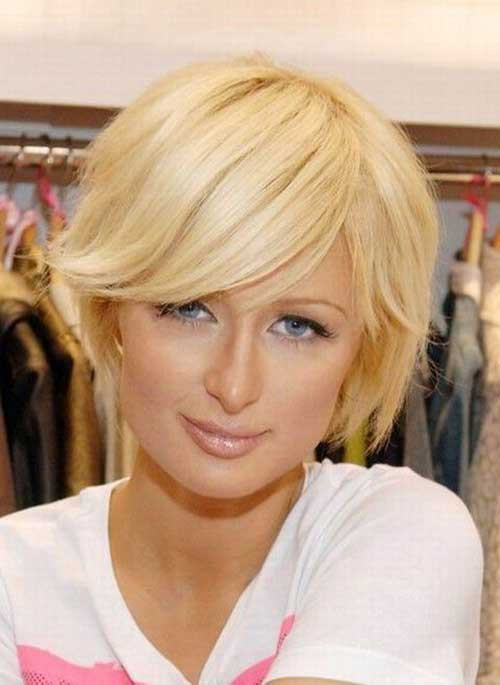 Best ideas about Bob Haircuts For Fine Hair Round Face . Save or Pin 10 Cute Short Hairstyles For Round Faces Now.