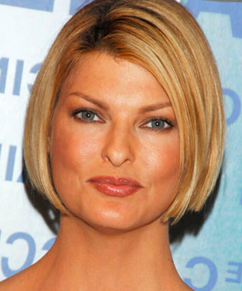 Best ideas about Bob Haircuts For Fine Hair Round Face . Save or Pin Best hairstyles for a round face Now.