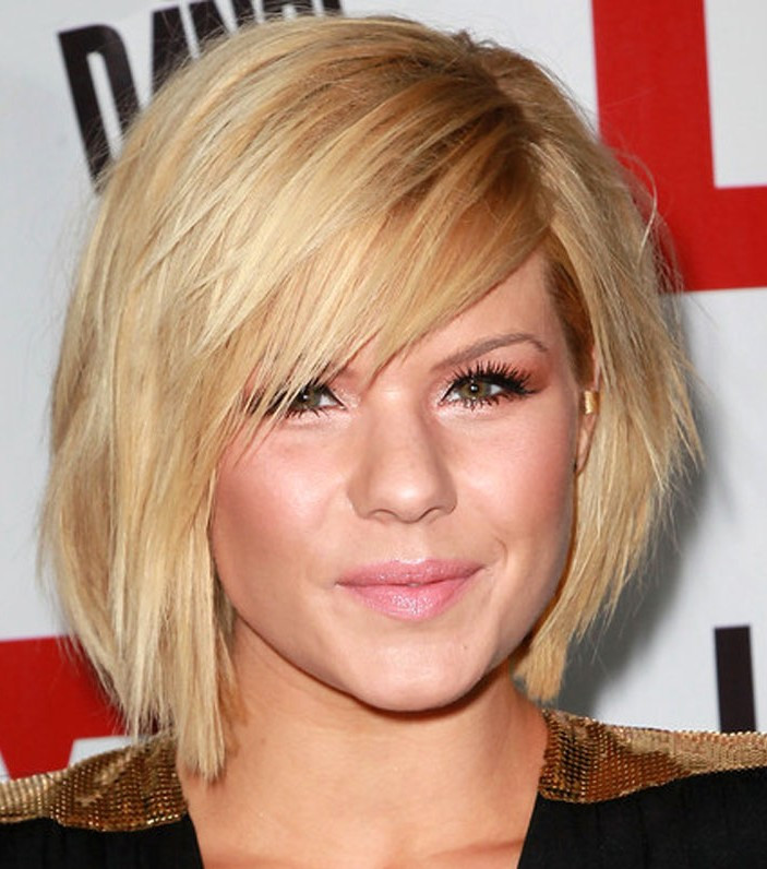 Best ideas about Bob Haircuts For Fine Hair Round Face . Save or Pin Best Short Hairstyles For Round Faces Now.