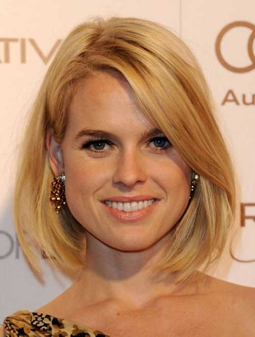 Best ideas about Bob Haircuts For Fine Hair Round Face . Save or Pin 10 Long Bob Haircuts For Round Faces Now.