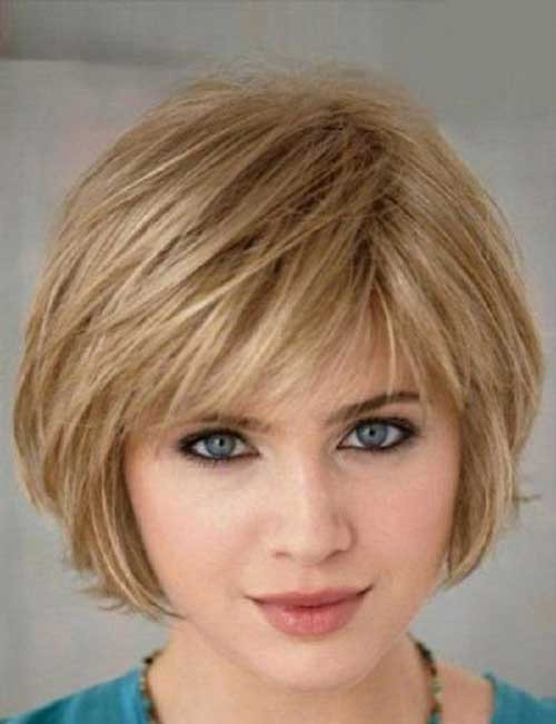 Best ideas about Bob Haircuts For Fine Hair Round Face . Save or Pin 15 Bobs Hairstyles for Round Faces Now.