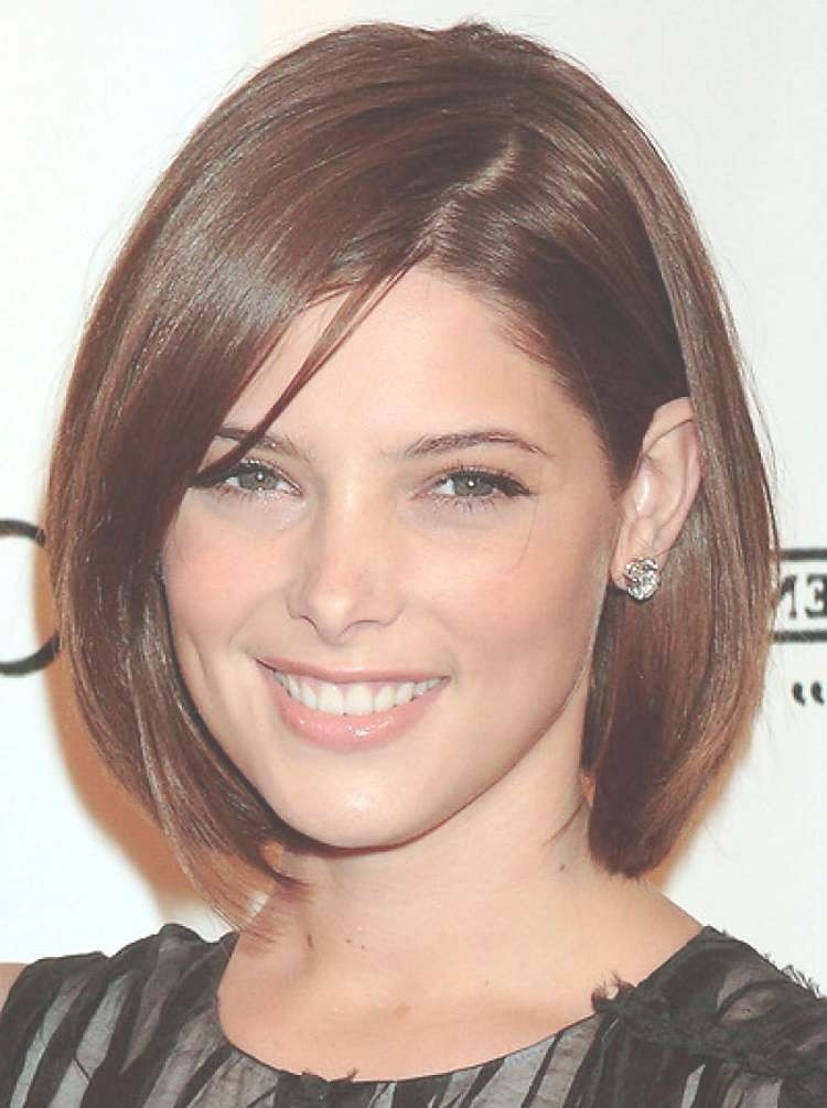 Best ideas about Bob Haircuts For Fine Hair Round Face . Save or Pin 15 Best Collection of Bob Hairstyles Round Faces Now.