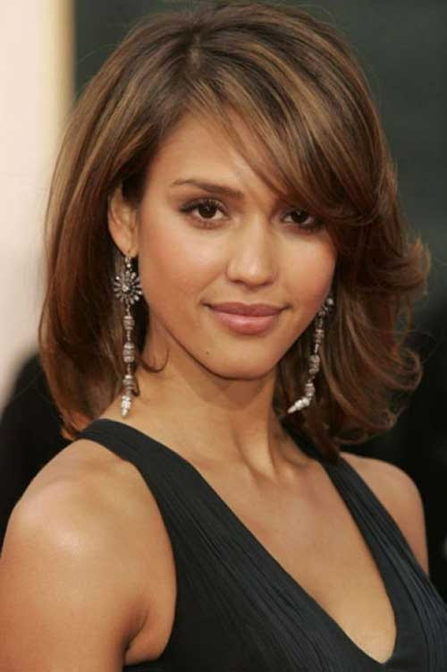 Best ideas about Bob Haircuts For Fine Hair Round Face . Save or Pin 25 Latest Long Bobs For Round Faces Now.