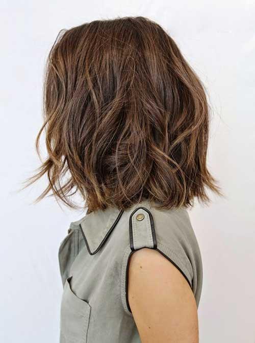 Bob Haircuts For Thick Wavy Hair  10 Bob Hairstyles For Thick Wavy Hair