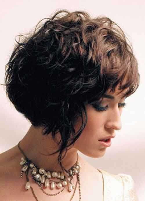 Bob Haircuts For Thick Wavy Hair  15 Bob Haircuts For Thick Wavy Hair