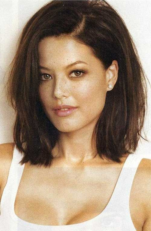 Bob Haircuts For Thick Wavy Hair  25 Brunette Hairstyles 2015 2016