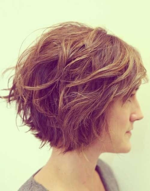Bob Haircuts For Thick Wavy Hair  12 Fabulous Short Hairstyles for Thick Hair Pretty Designs