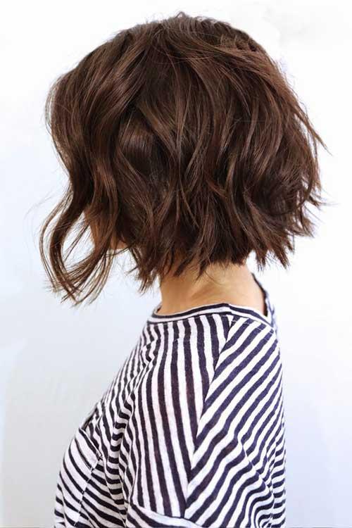 Bob Haircuts For Thick Wavy Hair  A Line Haircuts Pinterest Bobs Short Hair And Hair Cut
