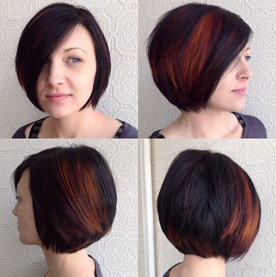 Bob Haircuts With Highlights  22 Popular Bob Haircuts for Short Hair Pretty Designs