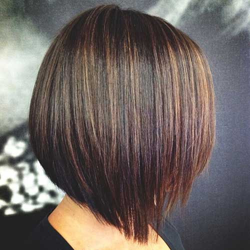 Bob Haircuts With Highlights  20 New Brown Bob Hairstyles