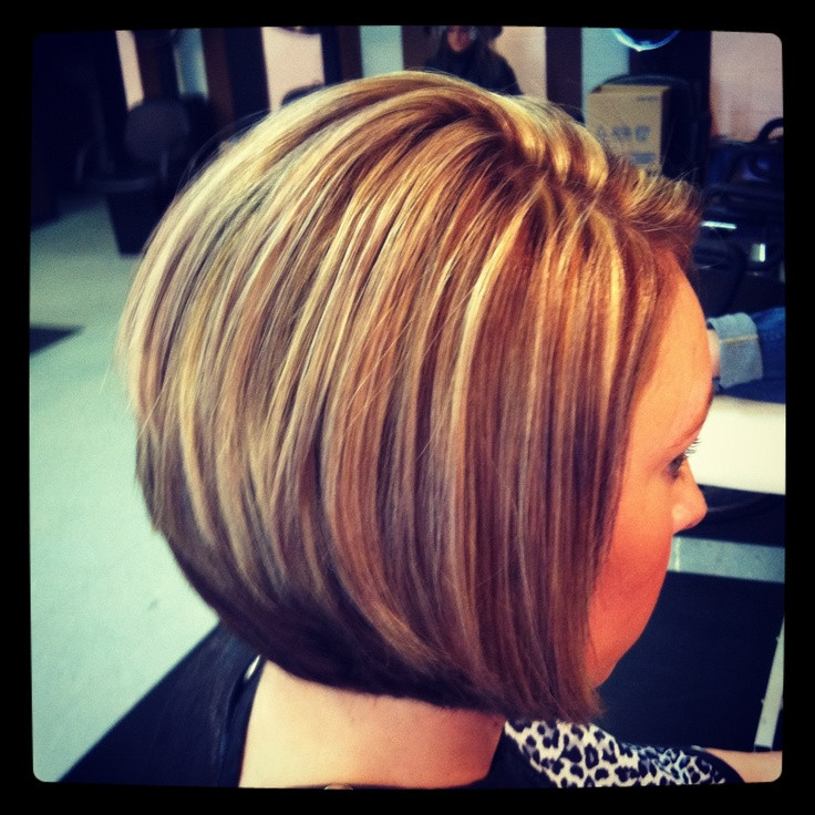 Bob Haircuts With Highlights  Bob Haircuts with Highlights and Video Tutorial