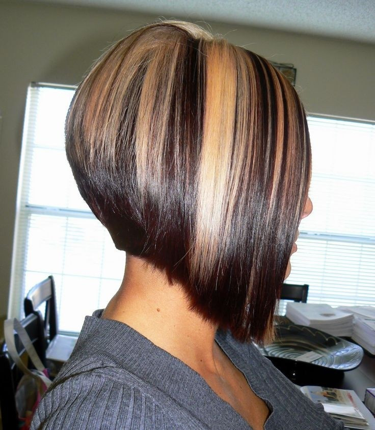 Bob Haircuts With Highlights  12 Trendy A Line Bob Hairstyles Easy Short Hair Cuts