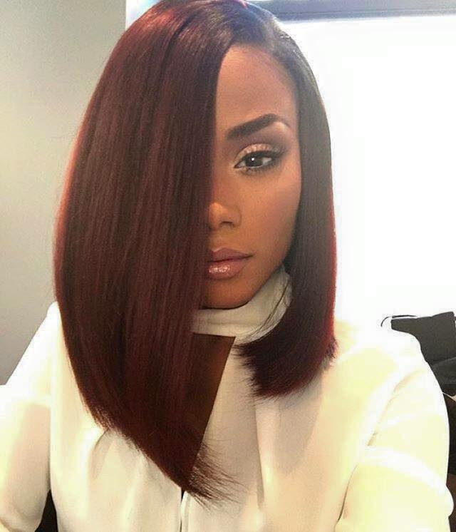 Bob Hairstyles African American  2016 Spring & Summer Haircut Ideas For Black & African