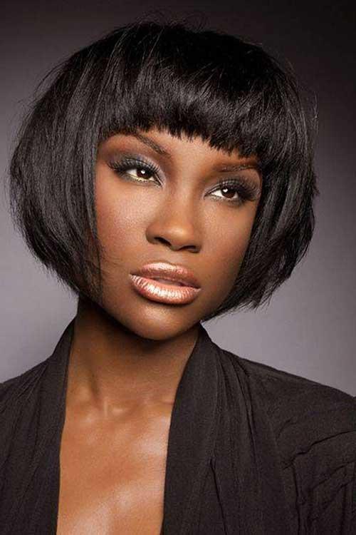 Bob Hairstyles African American  15 Short Bob Haircuts for Black Women