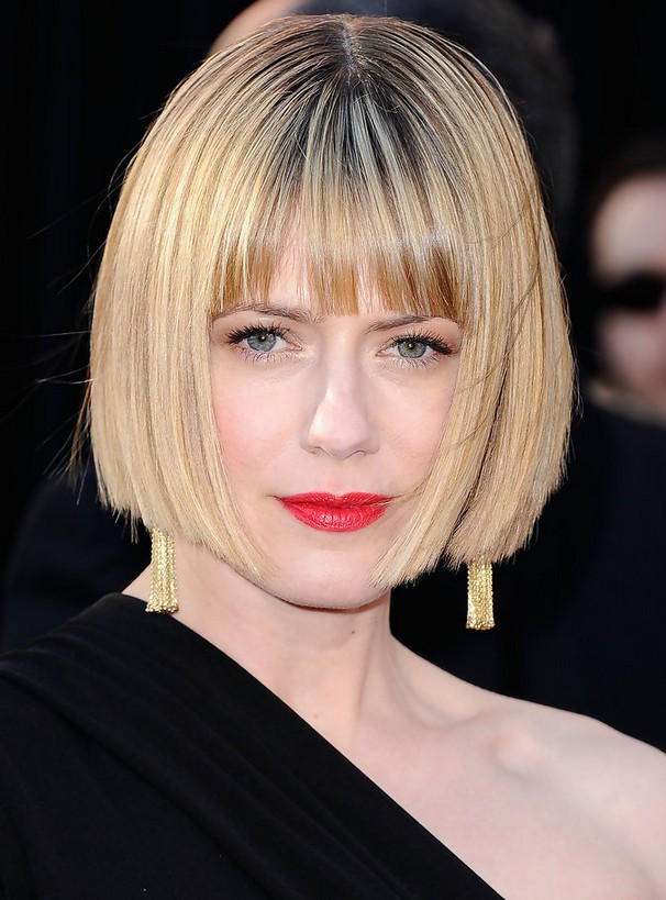 Bob Hairstyles With Bangs  9 Short Layered Hairstyles for Fall Hairstyles Weekly