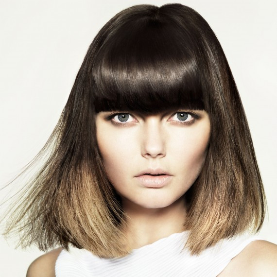 Bob Hairstyles With Fringe  fringe hairstyles Woman And Home