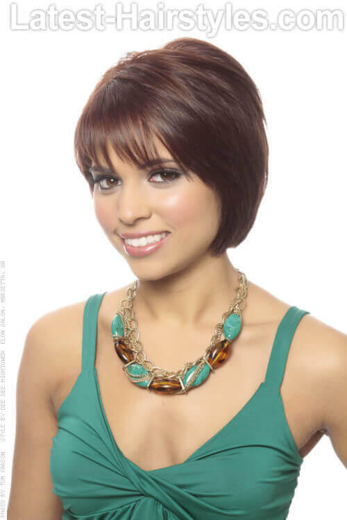 Bob Hairstyles With Fringe  28 Layered Bob Hairstyles So Hot We Want to Try All of Them