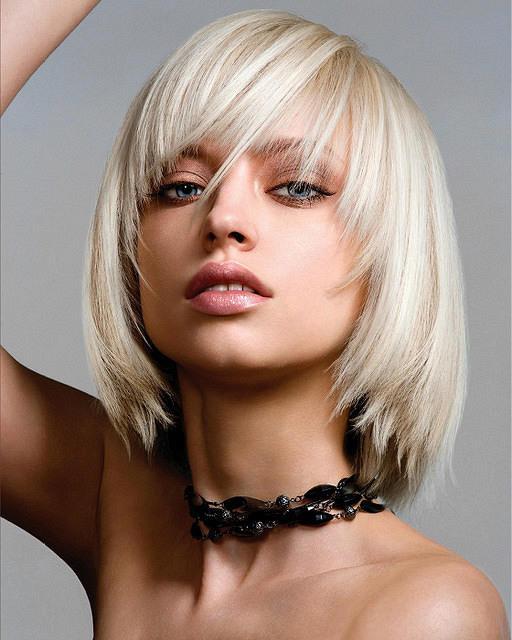Bob Hairstyles With Fringe  Blonde Bob Hairstyles with a Fringe Hair World Magazine