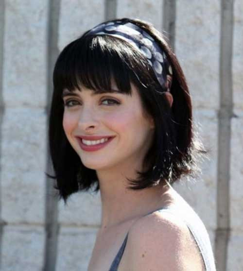 Bob Hairstyles With Fringe  20 Best Bob Hairstyles with Fringe