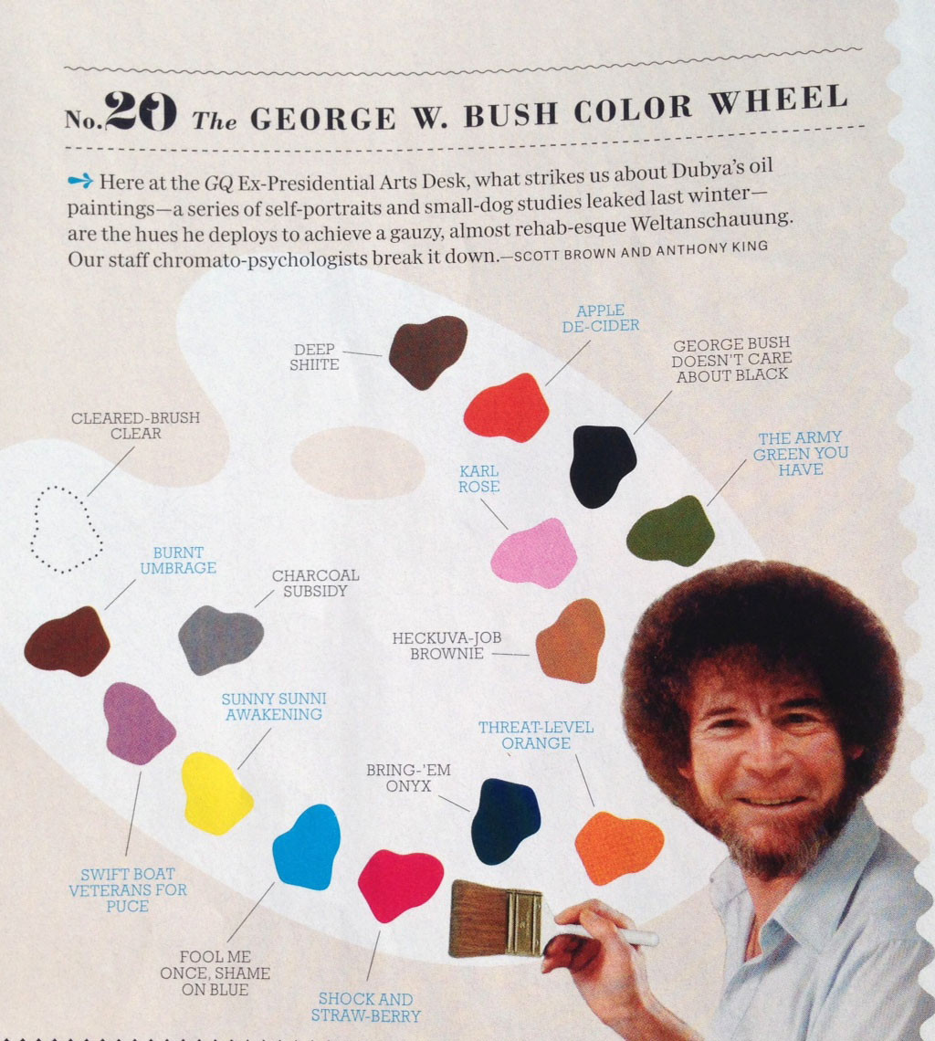 Best ideas about Bob Ross Paint Colors . Save or Pin Duckpin Press Bob Ross in GQ Now.
