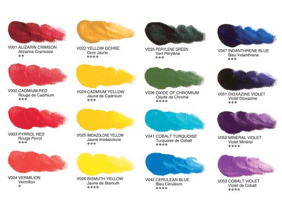 Best ideas about Bob Ross Paint Colors . Save or Pin Vernét Superior Artists' Oil Color Now.
