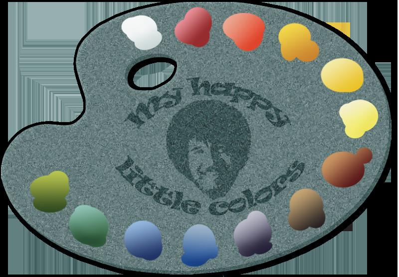 Best ideas about Bob Ross Paint Colors . Save or Pin Bob Ross happy little colors by halibwamus on DeviantArt Now.