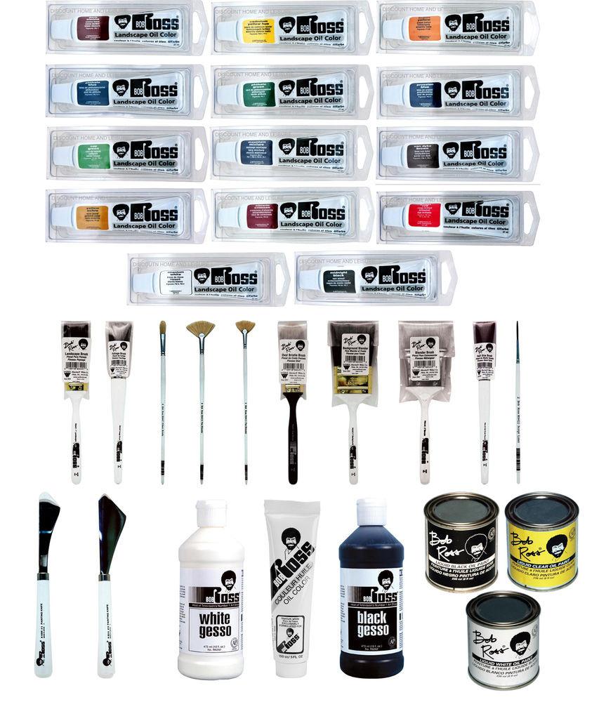 Best ideas about Bob Ross Paint Colors . Save or Pin Bob Ross Landscape Oil Colour Paints and Landscape Brush Now.